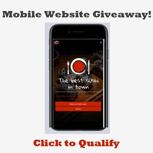 Mobile Website Giveaway